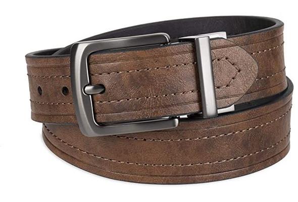 Men Belt Levi's Reversible Casual Jeans Brown/Black