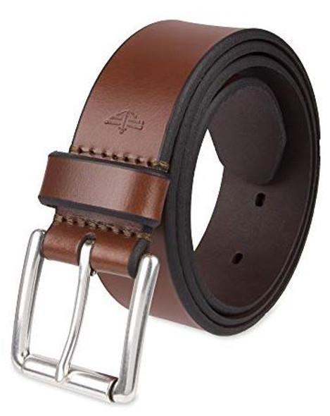 Men Belt Dockers Leather Casual Brown