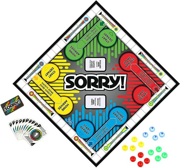 Game SORRY! Hashbro Family Board