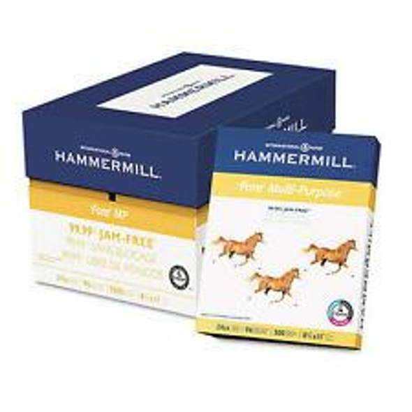 """Computer Paper Copy Hammermill Letter 8 1/2"""" x 11"""" White 500 Sheets"""