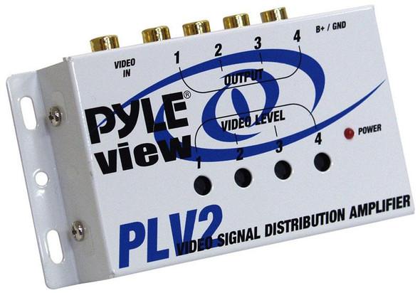 VIDEO SIGNAL DISTRIBUTION AMPLIFIER PYLE PLV2 CAR