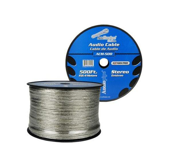 RCA CABLE ACM-500 WITH SHIED WIRE AUDIO PIPE SOLD PER YD