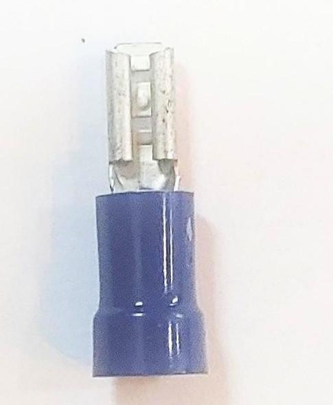SPADE CLIP HABF110 FEMALE BLUE FULLY INSULATE