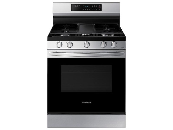 STOVE 5 BURNER SAMSUNG NX60A6315SS STAINLESS STEEL