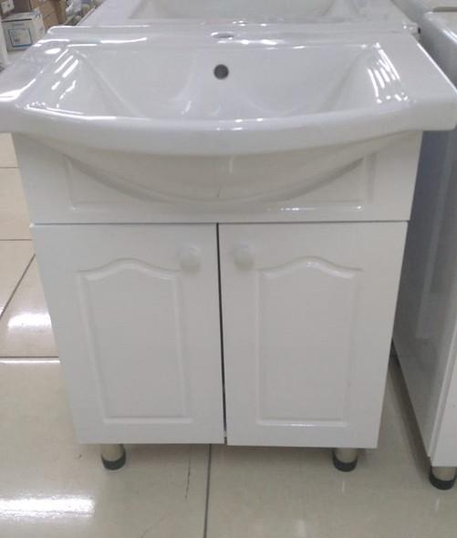 CABINET BATHROOM WHITE SC13 600X470X800MM