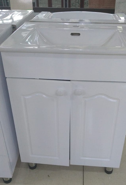 CABINET BATHROOM WHITE SC14 SQUARE 760X470X800MM