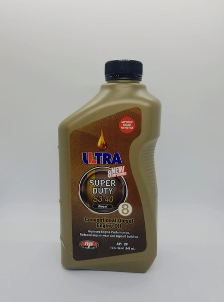 OIL ULTRA NP SUPER DUTY S3 40 DIESEL 1 QTS