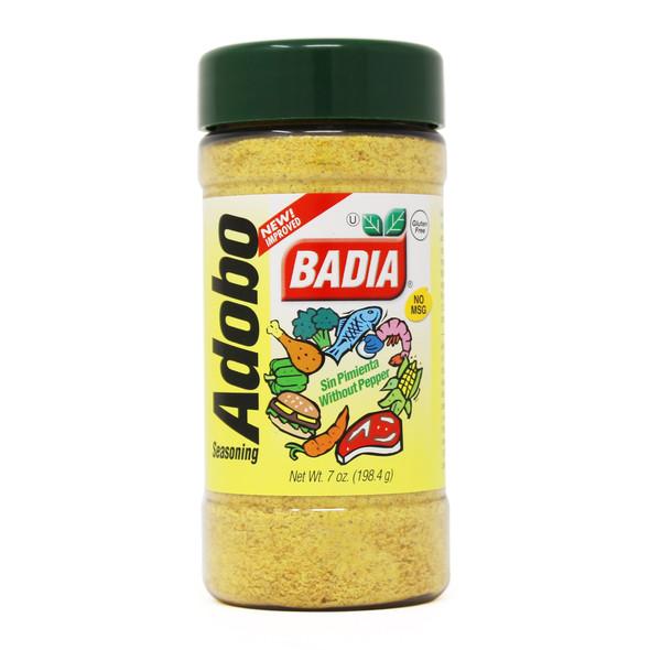 BADIA ADOBO SEASONING WITHOUT PEPPER 7oz 198.4g