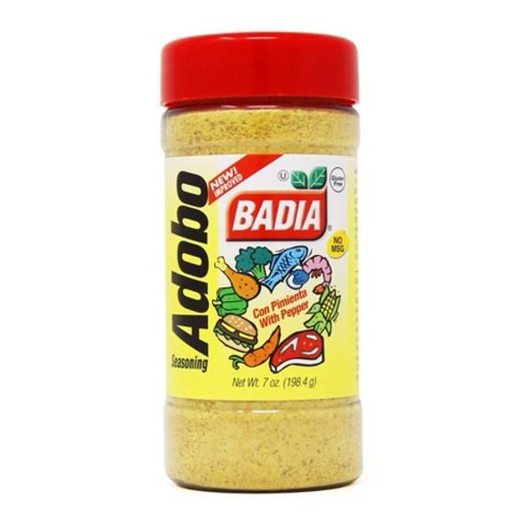 BADIA ADOBO SEASONING WITH PEPPER 7oz 198.4g