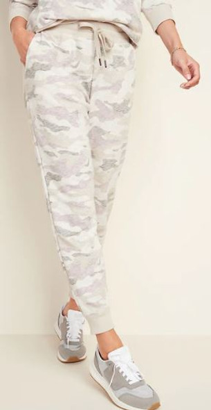 Women Joggers Old Navy Mid Rise Camo