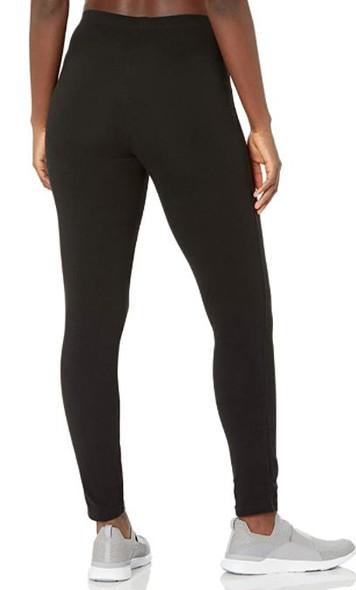 Women Legging Hanes Jersey Black