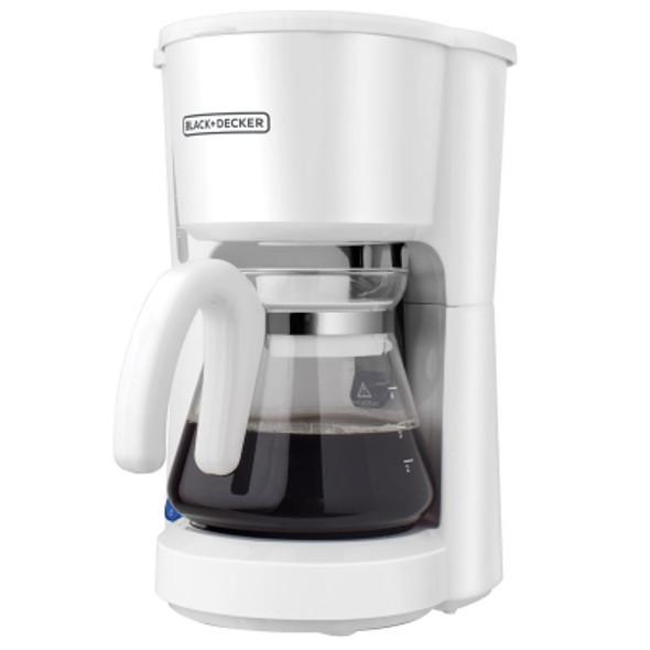 COFFEE MAKER BLACK & DECKER CM0701W 5-CUPS WHITE