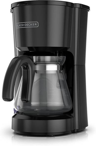 COFFEE MAKER BLACK & DECKER CM0701B 5-CUPS BLACK
