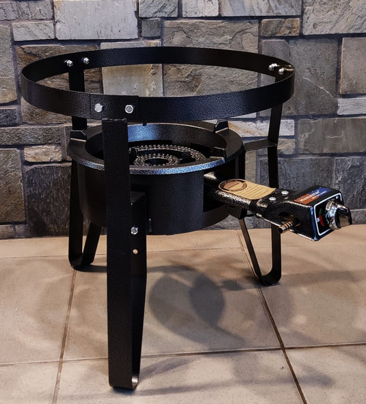 STOVE 1 BURNER HOMESTAR BS004 + ESB01 STAND + CAST IRON BURNER OUTDOOR DUCK CURRY