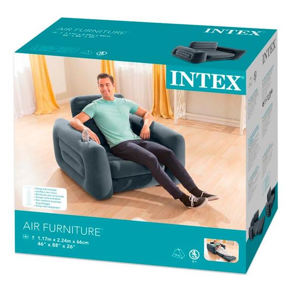 """CHAIR AIR INTEX 66551NP PULL OUT 46X88X26"""""""