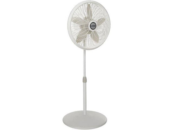 "FAN 18"" STAND LASKO 1820 110V WHITE"