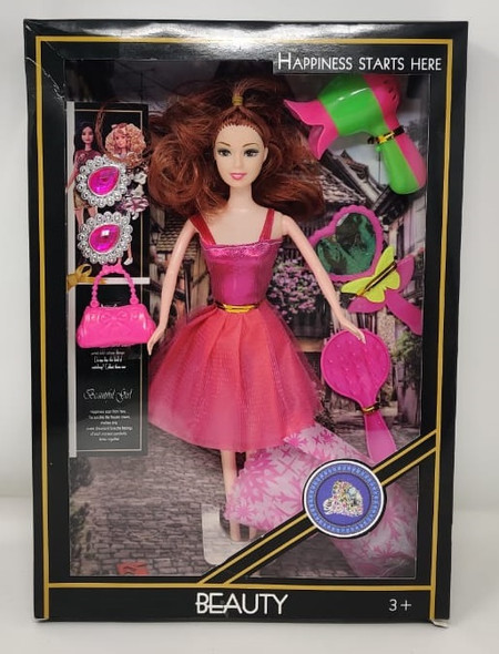 Toy Beauty Happiness Starts Here The Fashion Girl Doll F-239