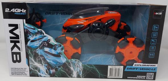 Toy Stunt Car Remote Control Exploration Drift-Vehicle MKB F-192