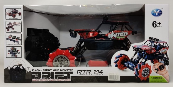Toy Stunt Wild Monster Drift Car Remote Control F-68