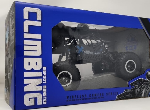 Toy Climbing Bigfoot Monster Truck Extreme Challenge Remote Control F-66 LH-C009