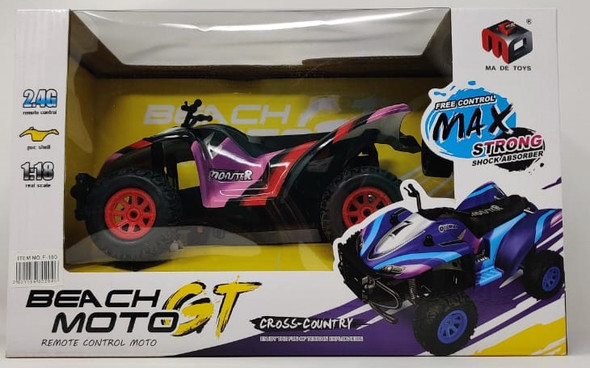 Toy Beach Moto GT Cross-Country Remote Control F-180