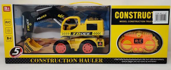 Toy Construction Hauler Remote Control F-97