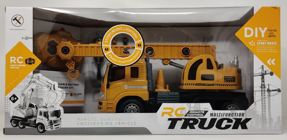 Toy Multifunction Truck RC Remote Control F-169