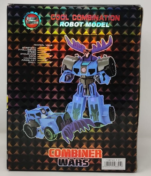 Toy Cool Combination Robot F-87