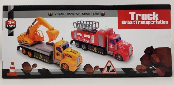 Toy Truck Urban Transportation F-122