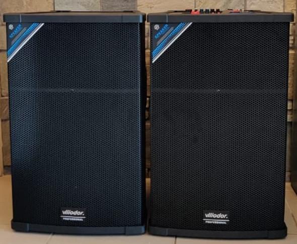 "SPEAKER BOX 15"" VLLIODOR DS-2005 POWERED PAIR"