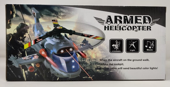 Toy Armed Helicopter F-160
