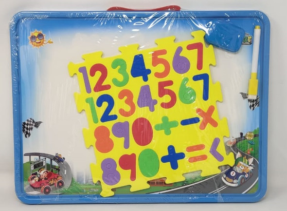 Toy Dry Erase Board First Class ABC 123 F-25