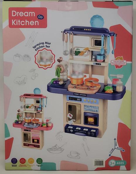 Toy Dream Kitchen Inbealy Spraying Mist Kitchen Set F-14