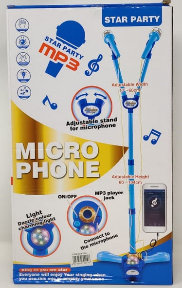 Toy Microphone Star Party MP3 F-209