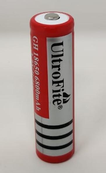 BATTERY ULTROFITE 3.7V LI-ION RECHARGEABLE GH 18650 6800mah