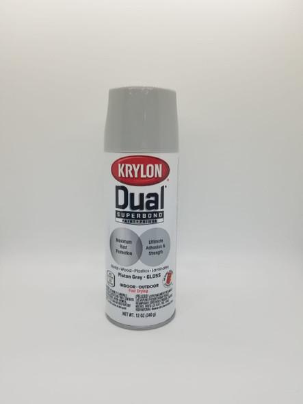 KRYLON DUAL GLOS PISTON GRAY 8814