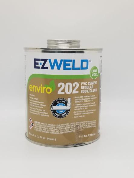 PVC PASTE CEMENT E-Z WELD 2PT 32OZ/946ML REGULAR