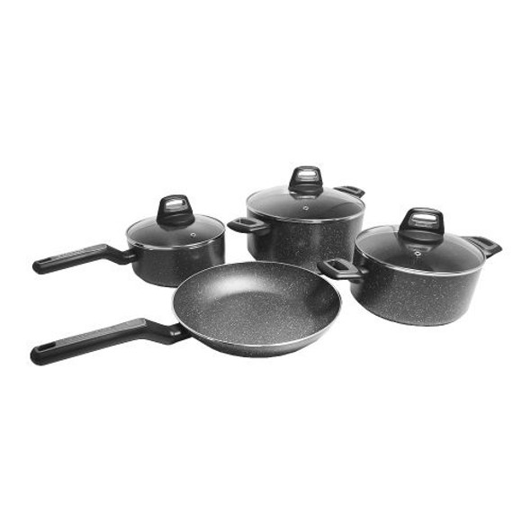POT SET 7PCS BLACK & DECKER 95232 GRANITE