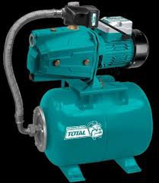 WATER PUMP TOTAL UTWP47506 JET WITH TANK & FITTING 750W 110V 1HP