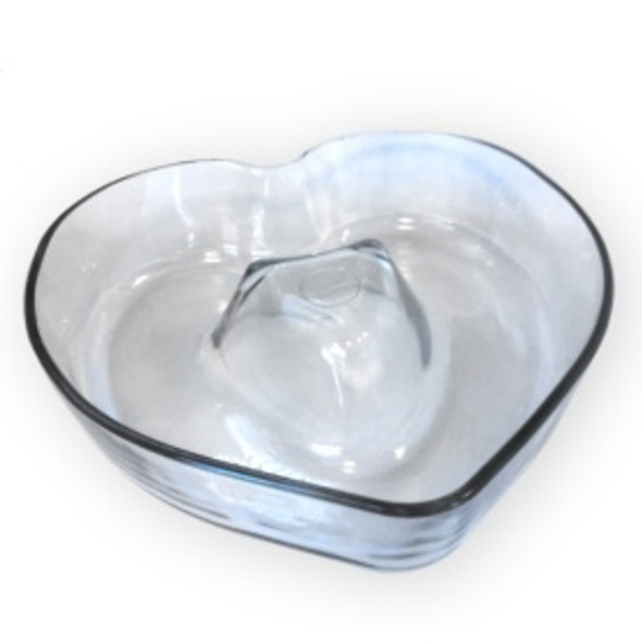 CAKE PAN HEART 4703-1 PYR-O-REY GLASS