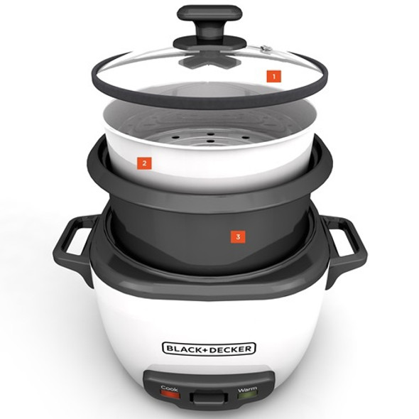 RICE COOKER BLACK & DECKER RC5280 28 CUP