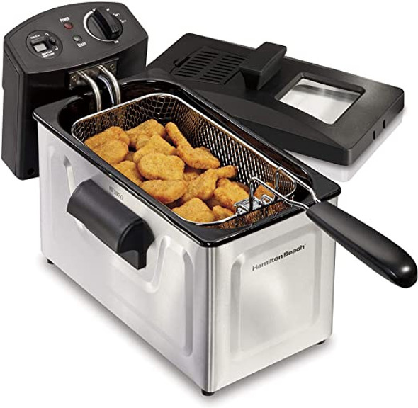DEEP FRYER HAMILTON BEACH 35033 SINGLE BASKET