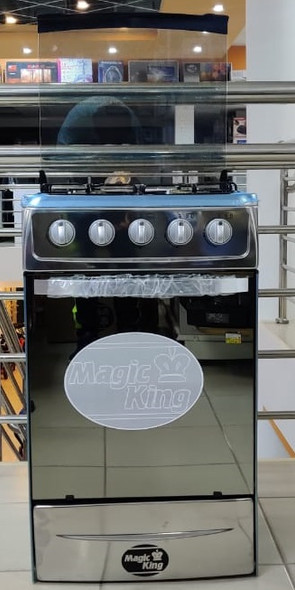 STOVE 4 BURNER MAGIC KING 20""