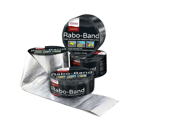 "FLASH BAND ROLL 100MM 4"" RABO #CXH0304"