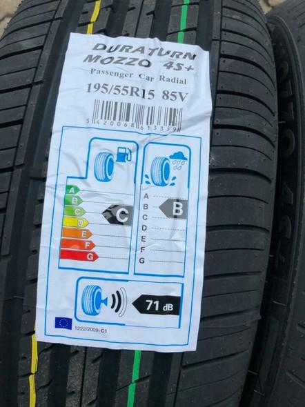 CAR TYRE R15 DURATURN 195/55R15 85V