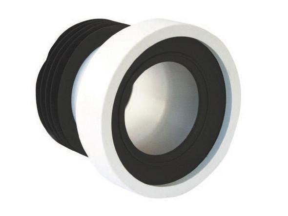 "PVC PAN CONNECTOR 4"" Mc ALPINE UK CRONEX #CXP5042"