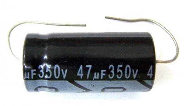 CAPACITOR 350V 47UF D#268
