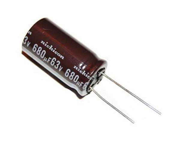 CAPACITOR 63V 680UF D#268