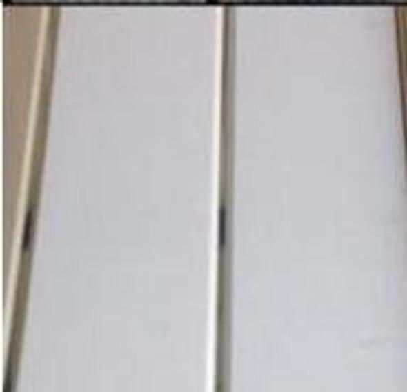 "CEILING PVC 19.5' X 8"" #GB003 WHITE & GOLD"