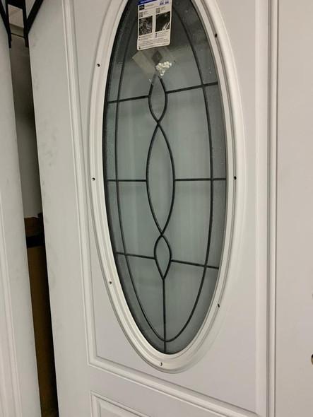 DOOR STEEL JELDWEN OVAL PATINA ROYAL R00405JW